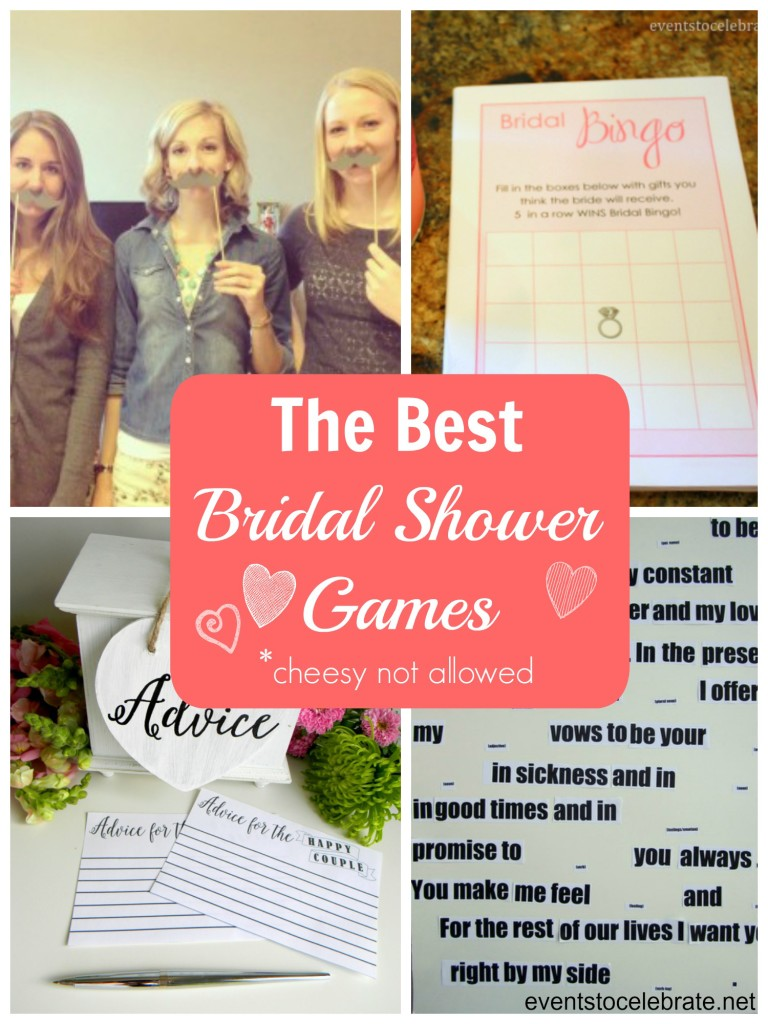 Best Bridal Shower Games - eventstocelebrate.net