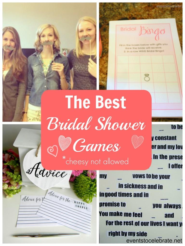 Best Bridal Shower Games - eventstocelebrate.net
