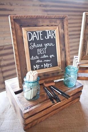 Bridal Shower Date Ideas Jar