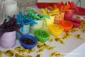 Rainbow Birthday Party Treats