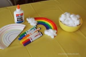 Easy Rainbow Craft