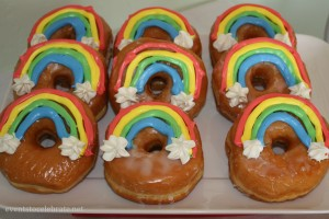 Rainbow Birthday Party Desserts