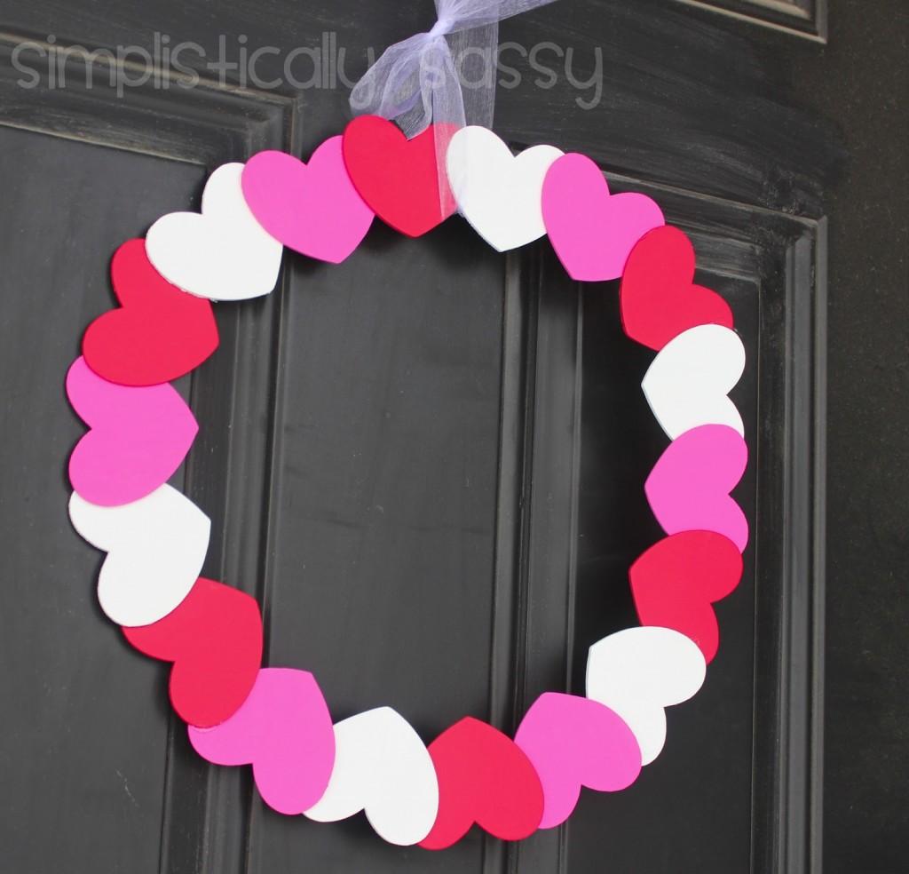 Kara's Valentines Wreath