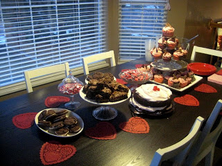 Valentine's couples party