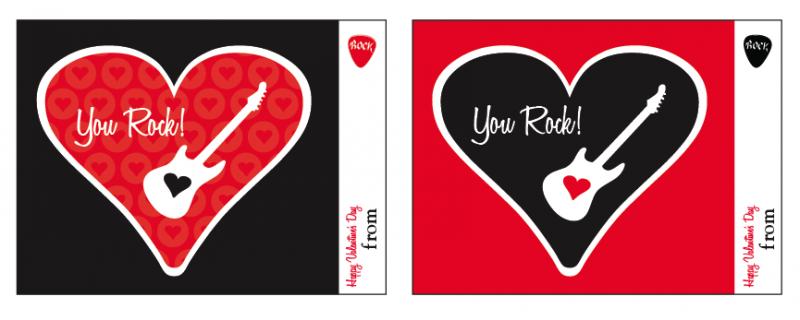 You Rock valentine