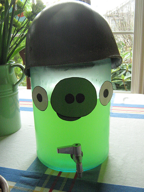 angry birds green drink