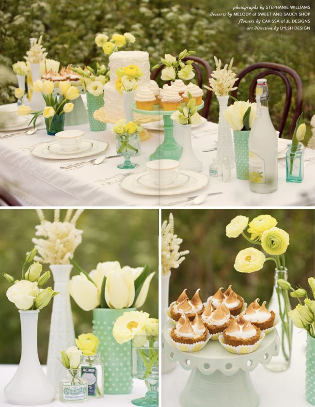 Wedding wednesday brunch wedding events to celebrate for Outdoor brunch decorating ideas