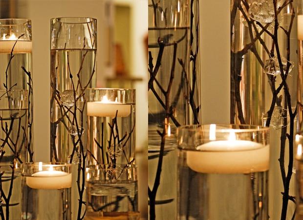 candle and twig