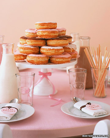 donut centerpiece