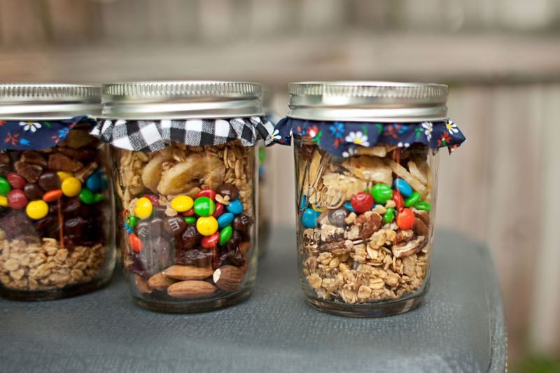 trail mix favor