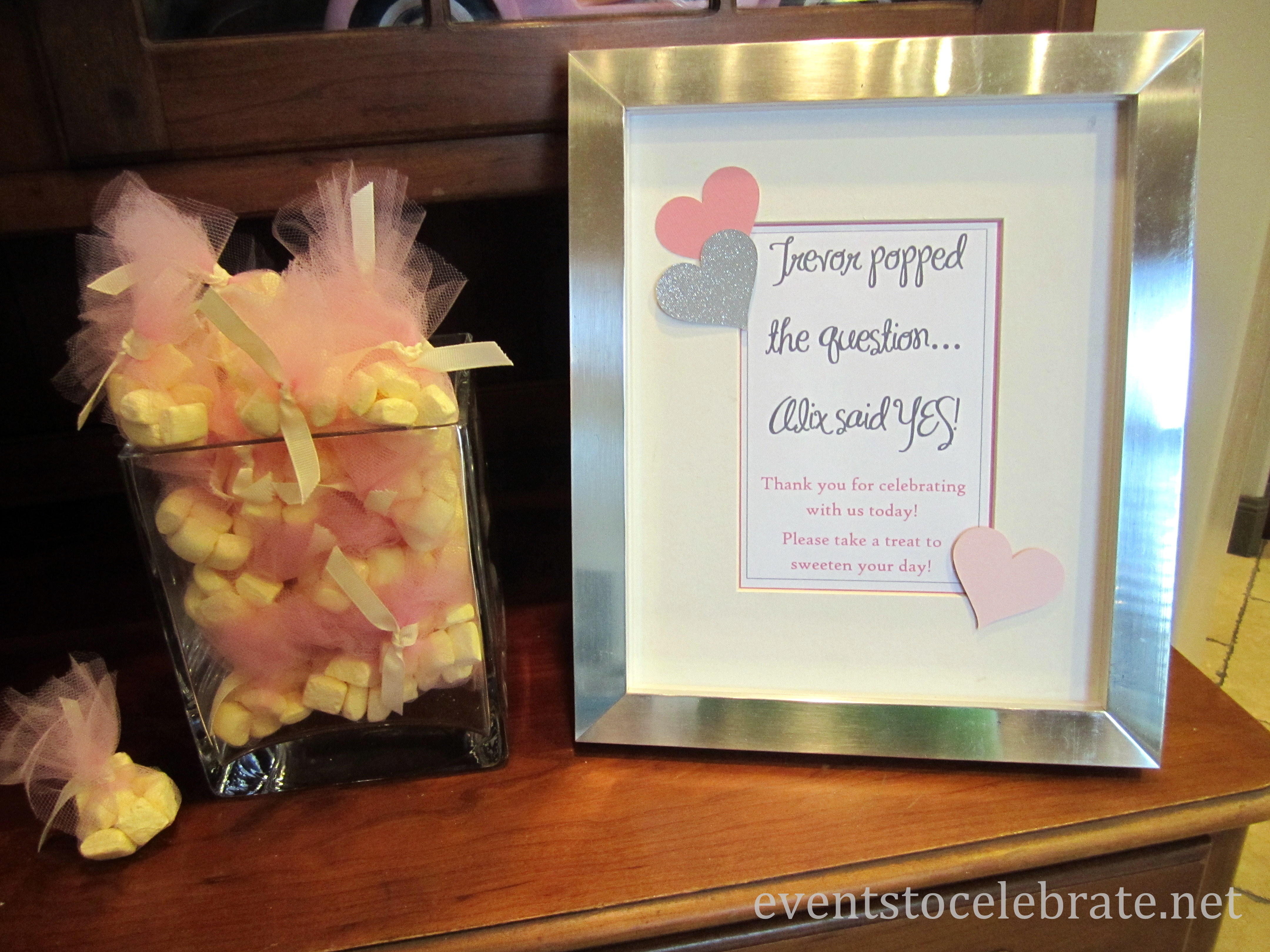 Wedding Wednesday Pink & Gray Bridal Shower events to CELEBRATE