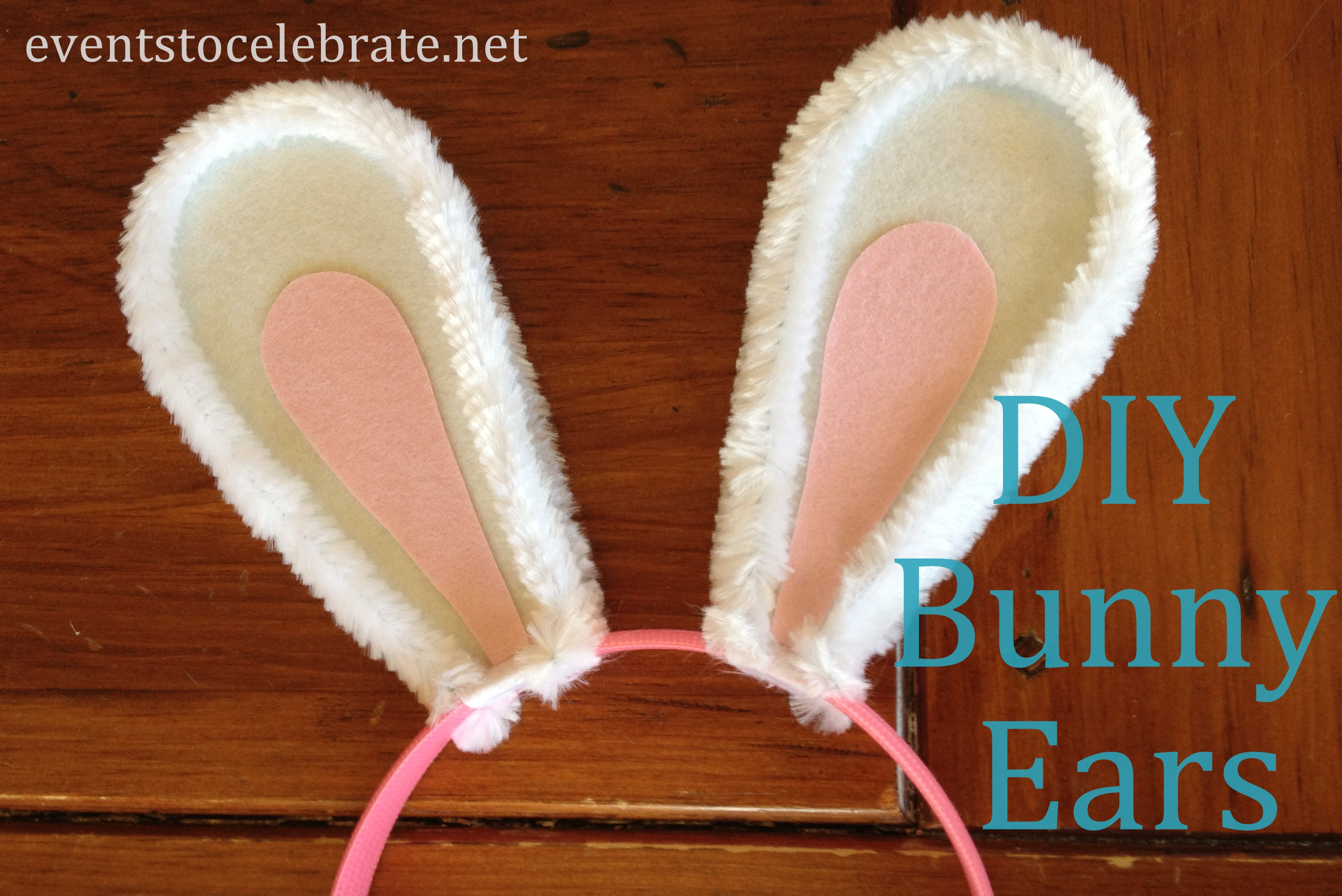 Easter crafts diy bunny ears events to celebrate for Bunny ears headband template