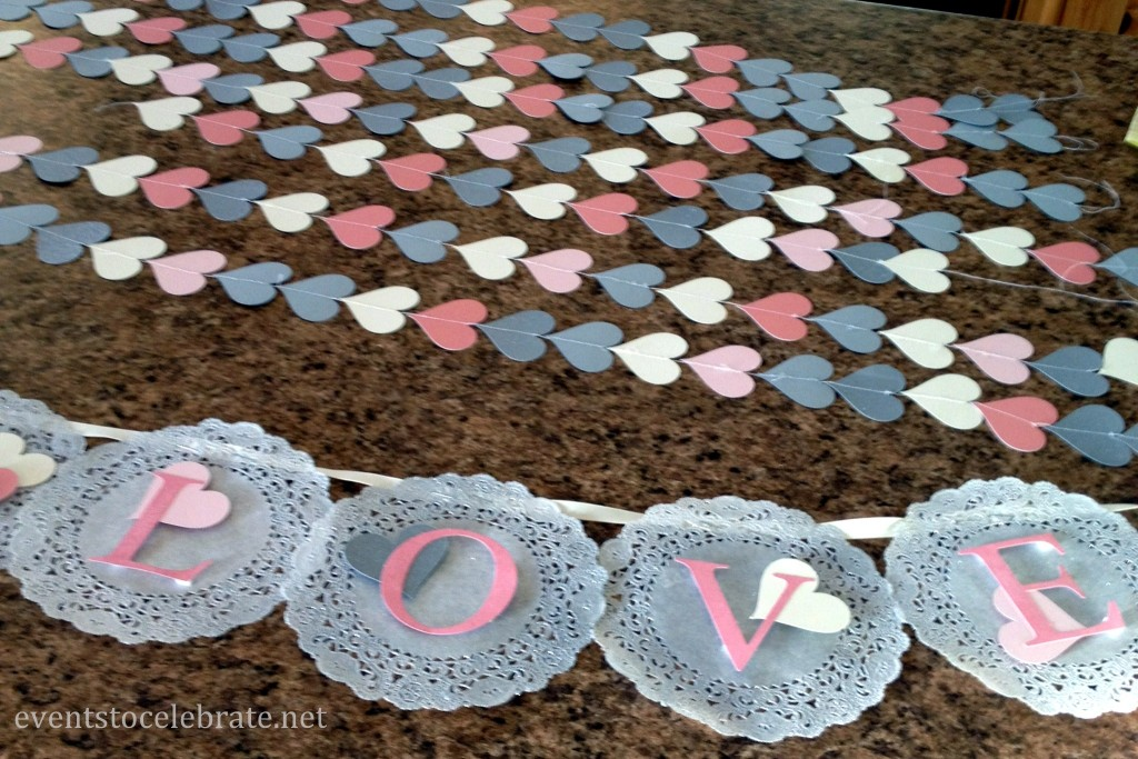 Doily Garland & Heart Garlands