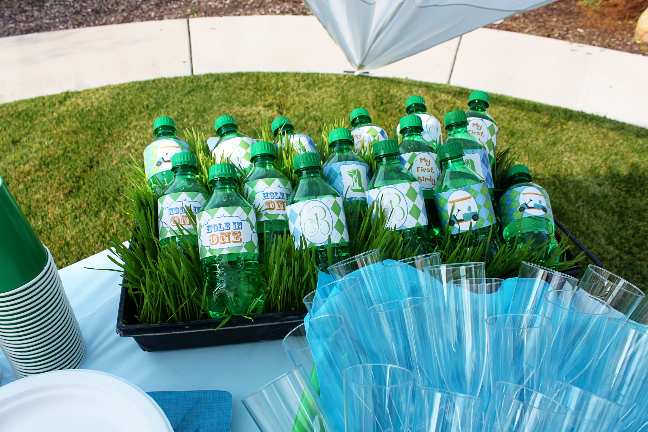 Golf Themed Party Decorating Ideas