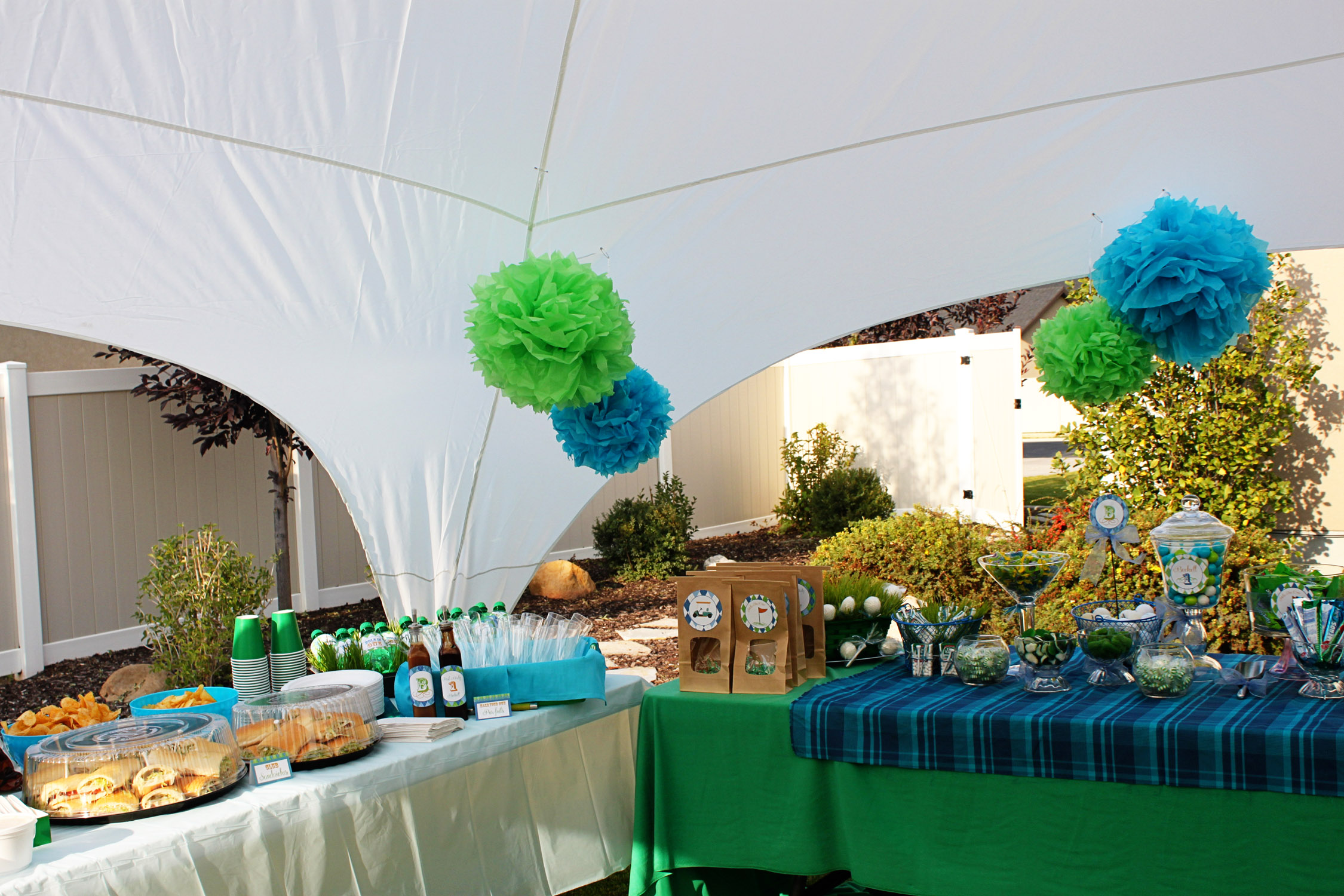 Exceptional Golf Themed Party Decorating Ideas Part - 1: ... Golf Birthday Party Ideas