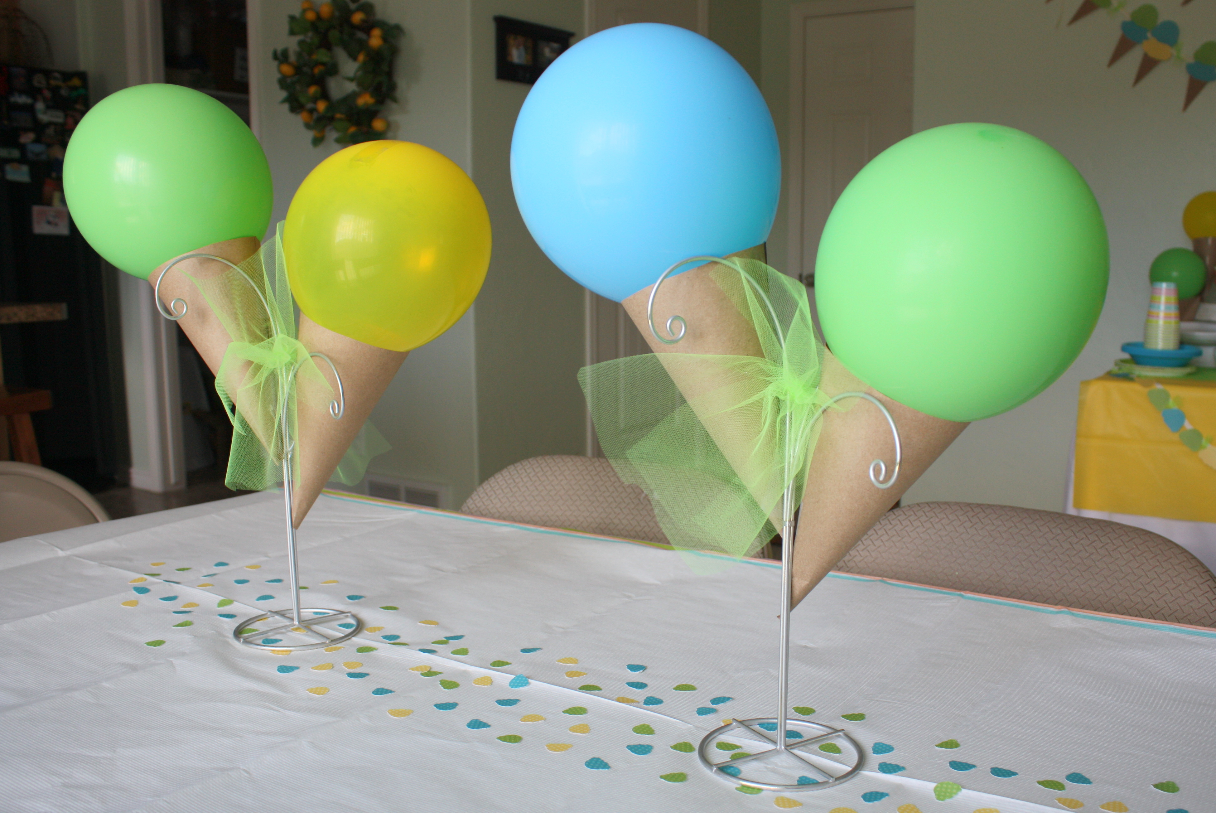 Ice cream party ideas - S party theme decorations ...