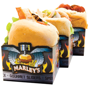Marley's Sliders - late night wedding food