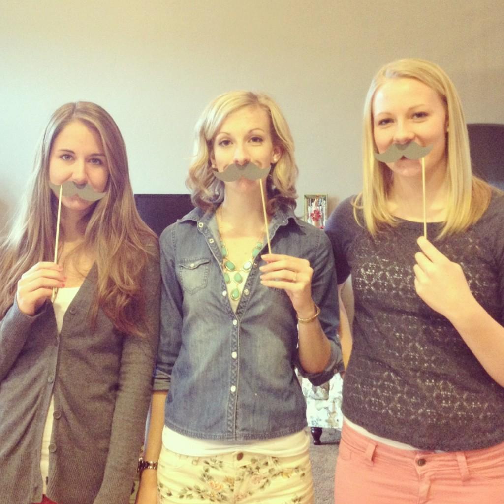 Mustache & Lips Game