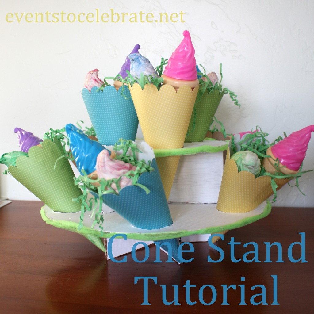 Cone Stand Tutorial