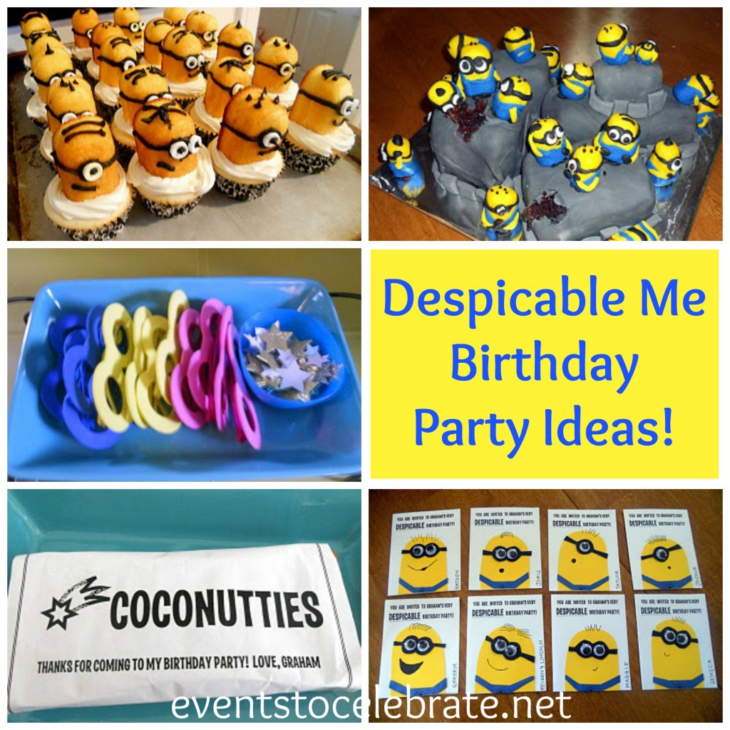 Despicable Me Birthday Party Ideas! Events to Celebrate!