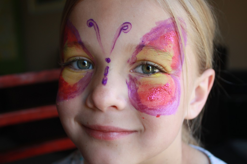 Fairy Party Facepainted