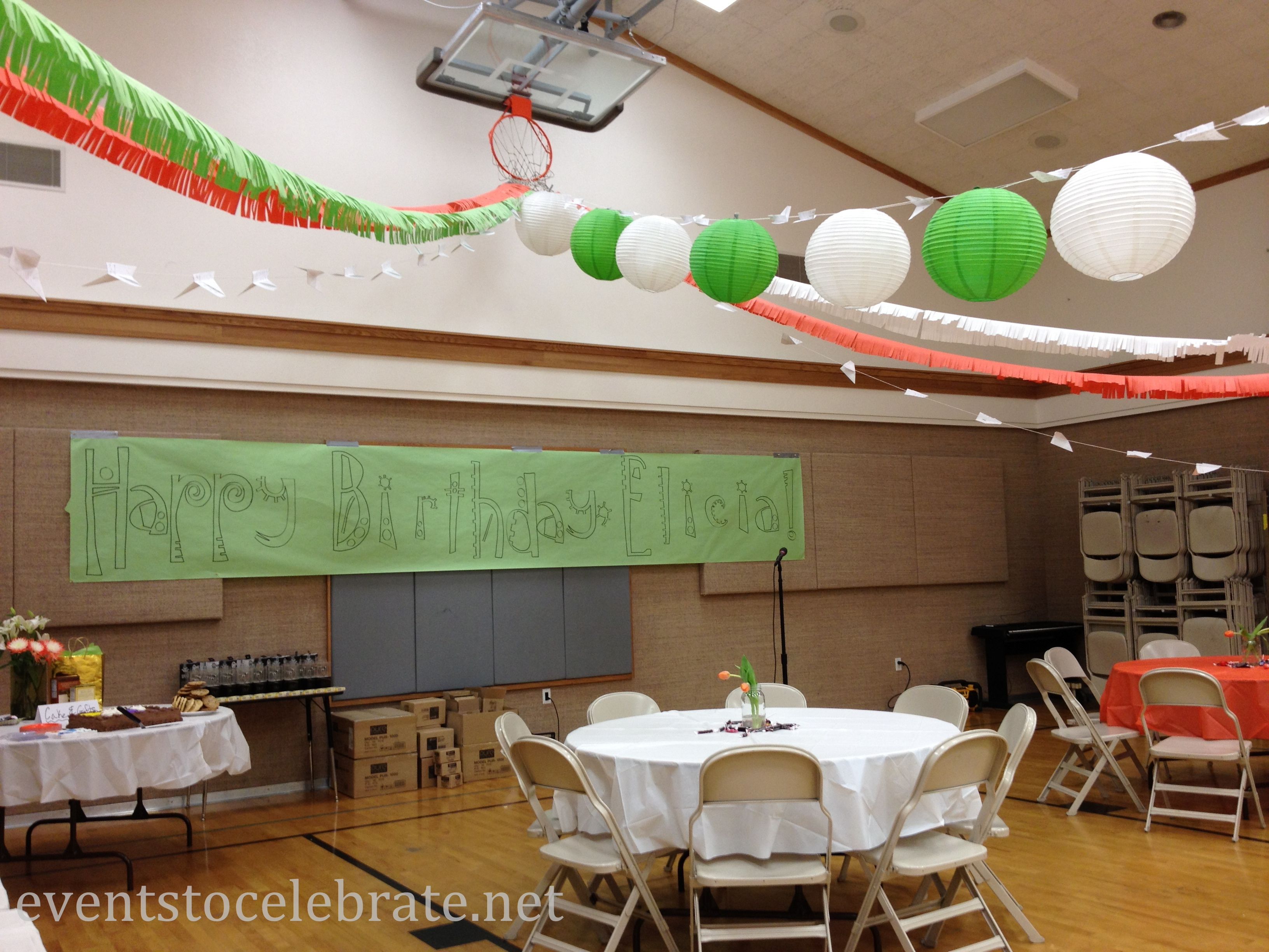 Wall Decor Ideas For Large Spaces : Ideas for decorating large spaces events to celebrate