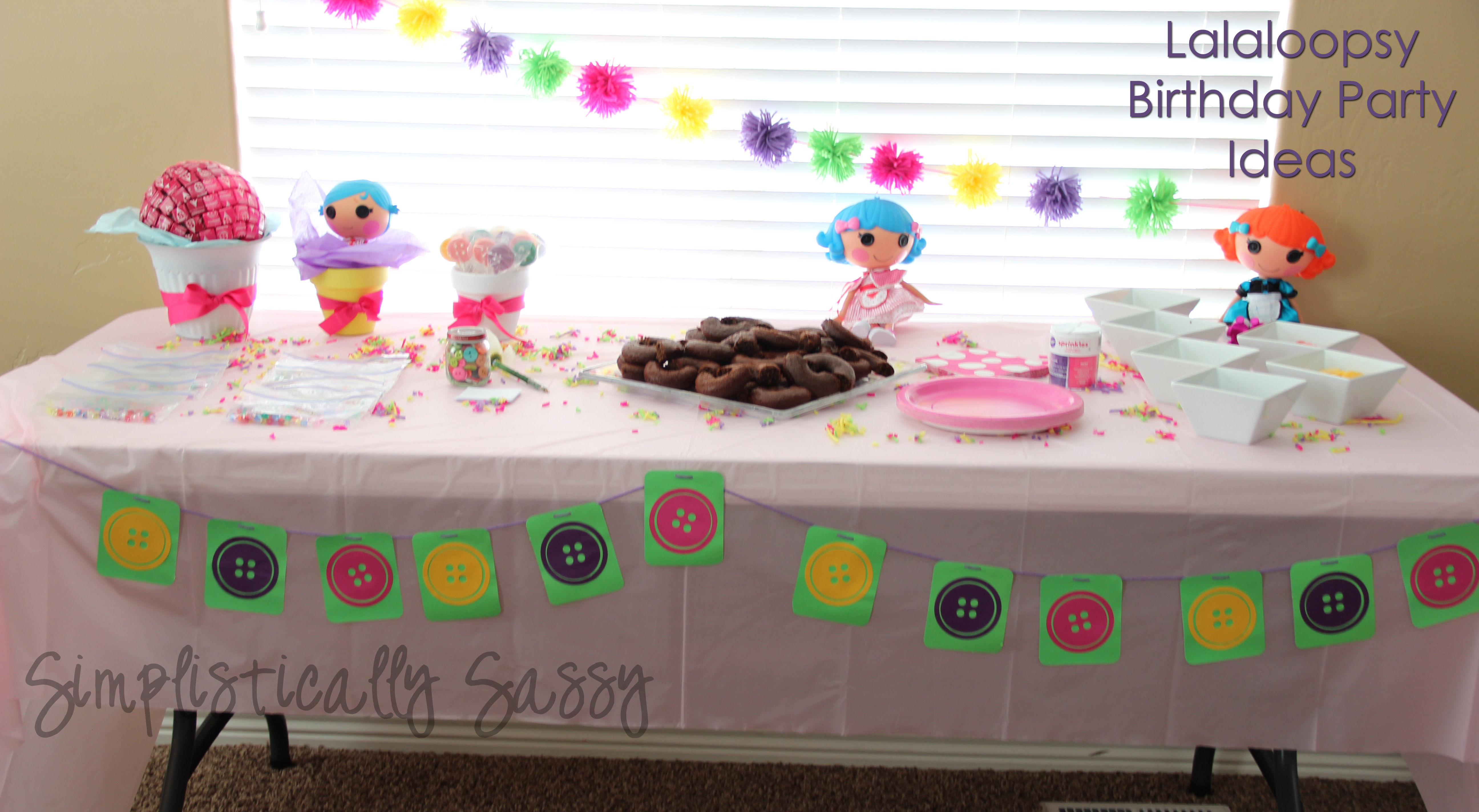 Lalaloopsy Themed Birthday Party events to CELEBRATE