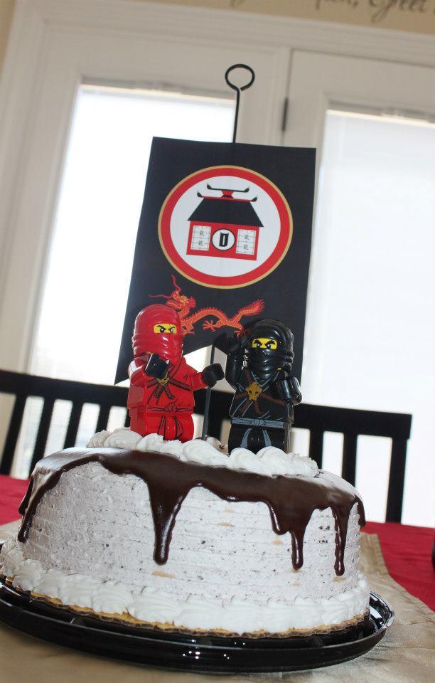 Ninja party cake