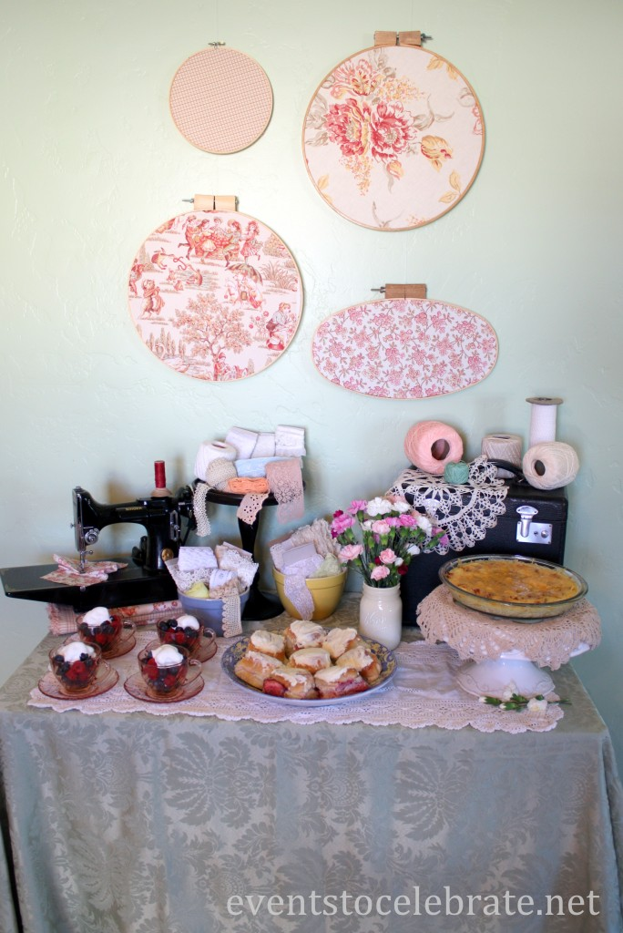 Sewing Brunch Party