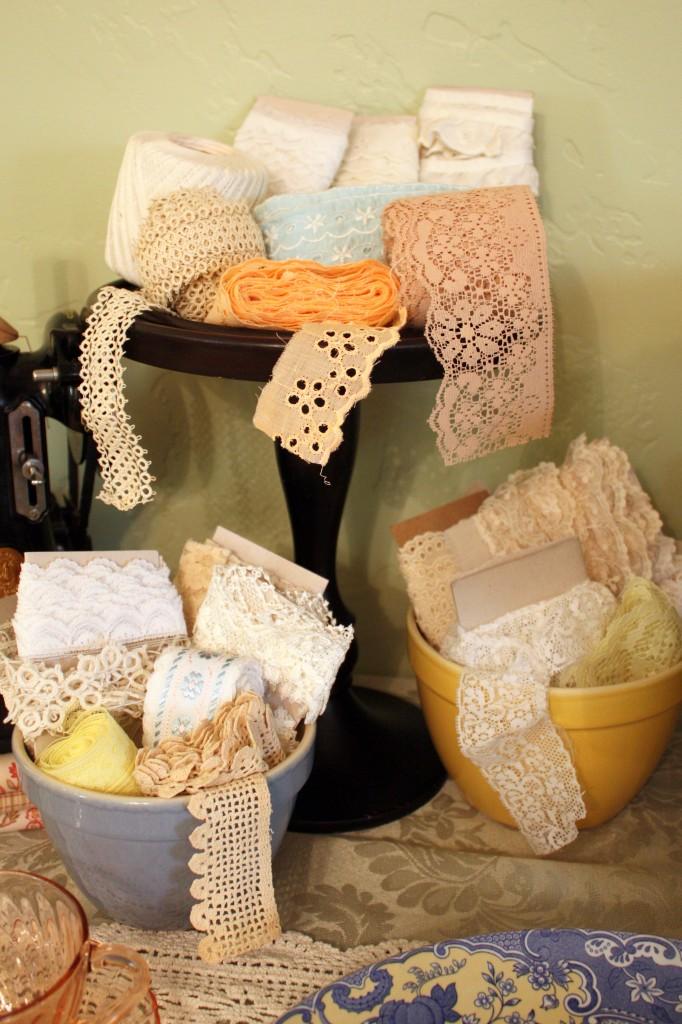 Sewing Food Display