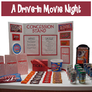 drive in movie concessions
