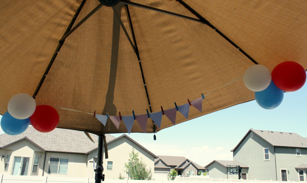 4th of July DIY banner
