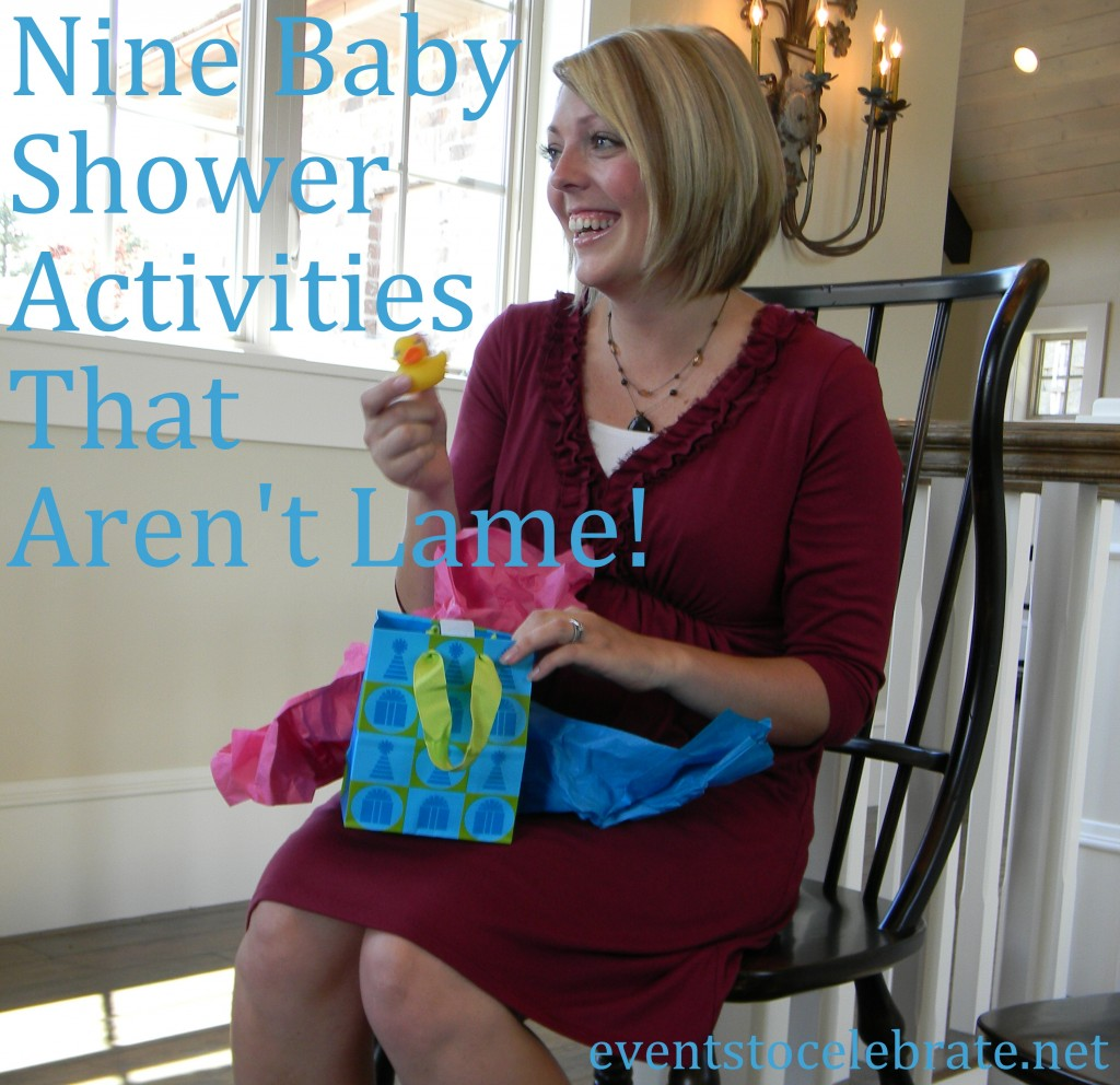 Baby Shower Games & Activities