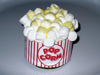 Popcorn cupcakes free printable