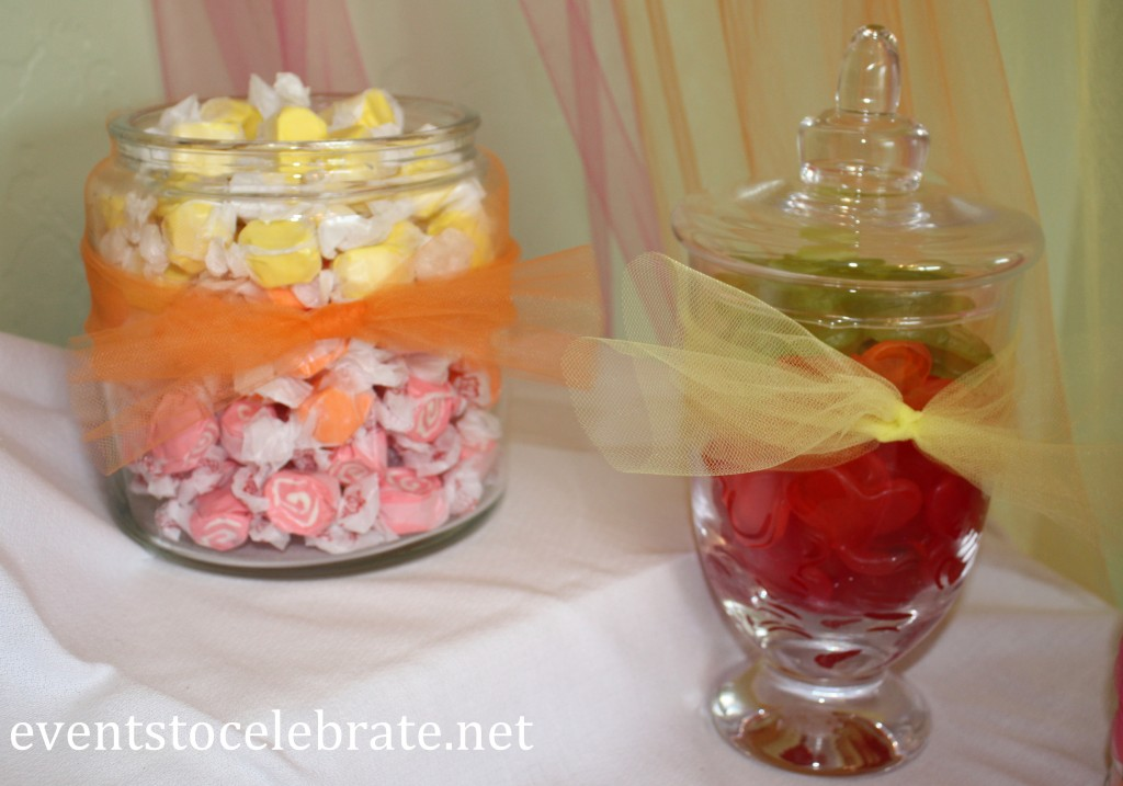 Buttefly Themed Party Favors - gummy butterflies, taffy - eventstocelebrate.net