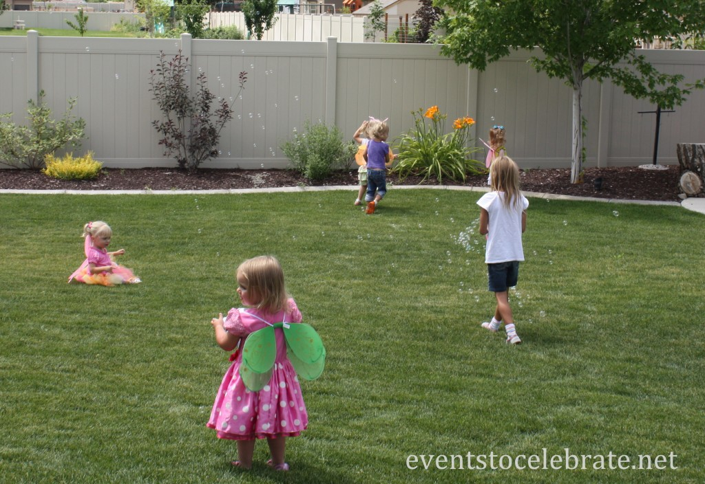 Butterfly Birthday Party Activities - Bubble Machine - Eventstocelebrate.net