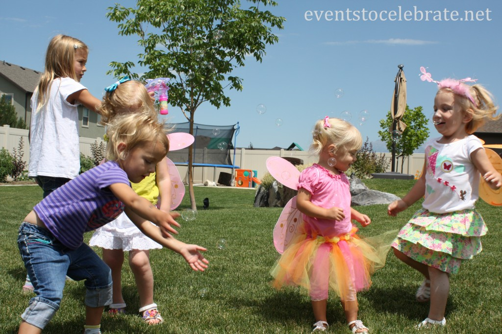 Butterfly Party Activities - Bubbles - eventstocelebrate.net