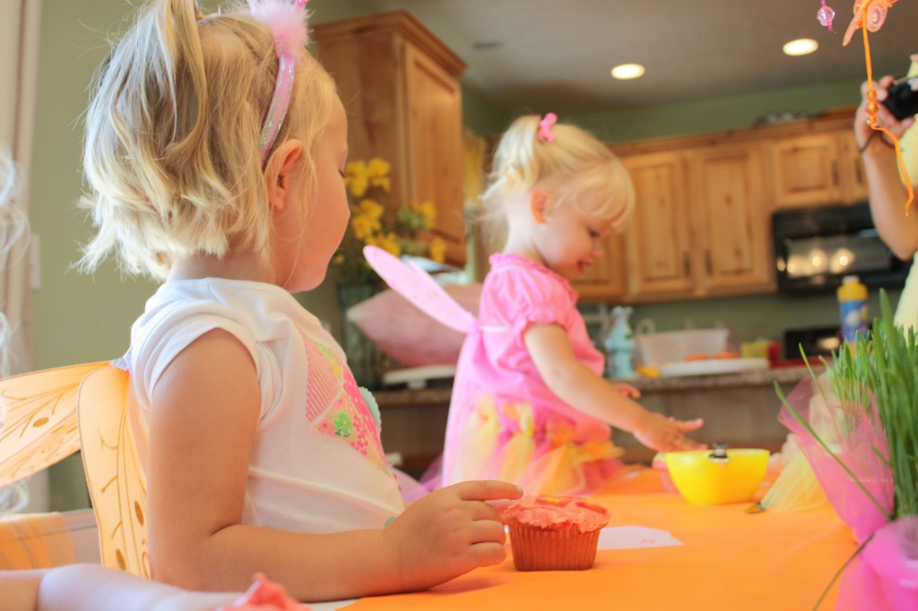 Butterfly Party Activities - decorate cupcakes with chocolate butterflies - eventstocelebrate.net