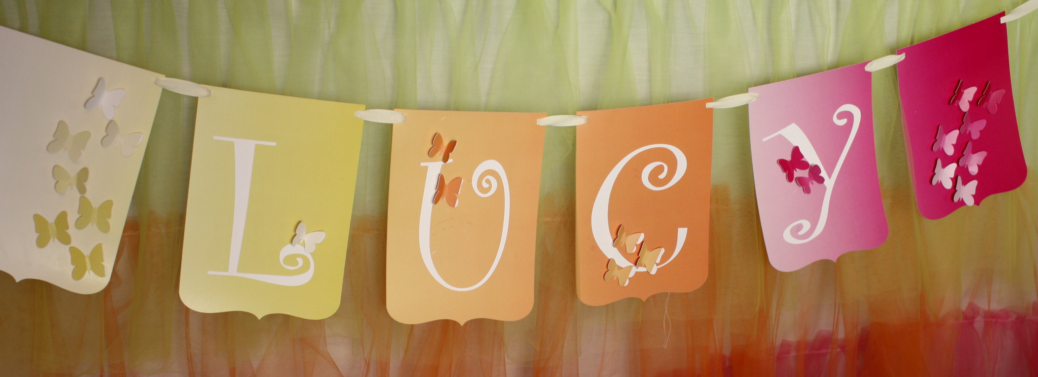 Butterfly Themed Birthday Party: Decorations - events to CELEBRATE!