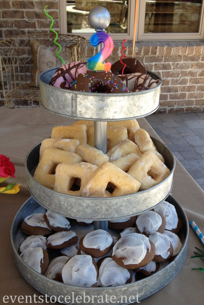 Swim Party - Dessert Tower