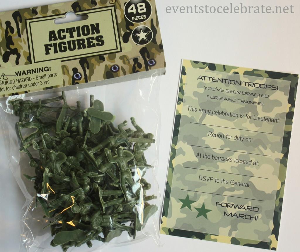 Army Invite Free Printable - Eventstocelebrate.net