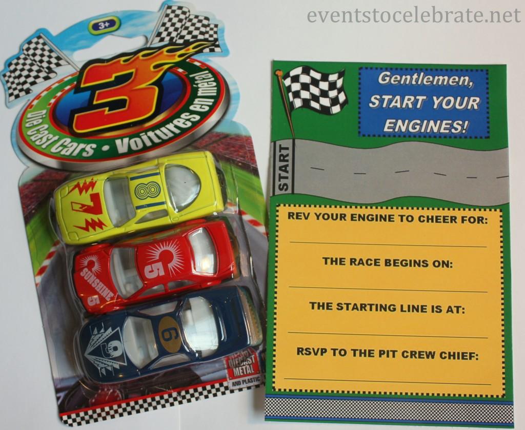 Car Racing Invite Free Printable - Eventstocelebrate.net
