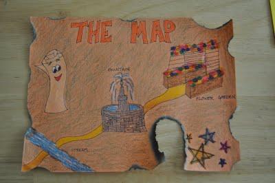 Dora The Explorer Birthday map