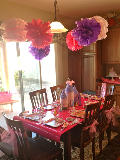 Princess Birthday Party Decoration Ideas