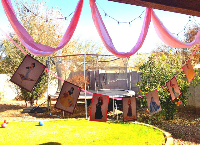 Princess Birthday Party Decorations