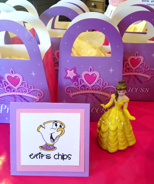 Princess Birthday Party Food - Chips