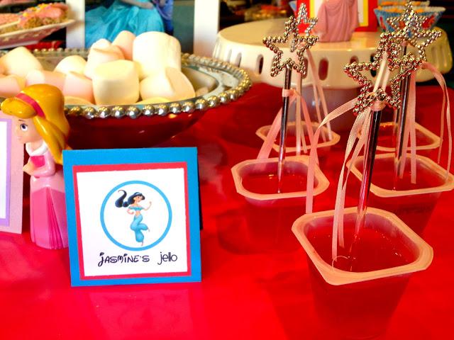 Princess Birthday Party Food - Jello