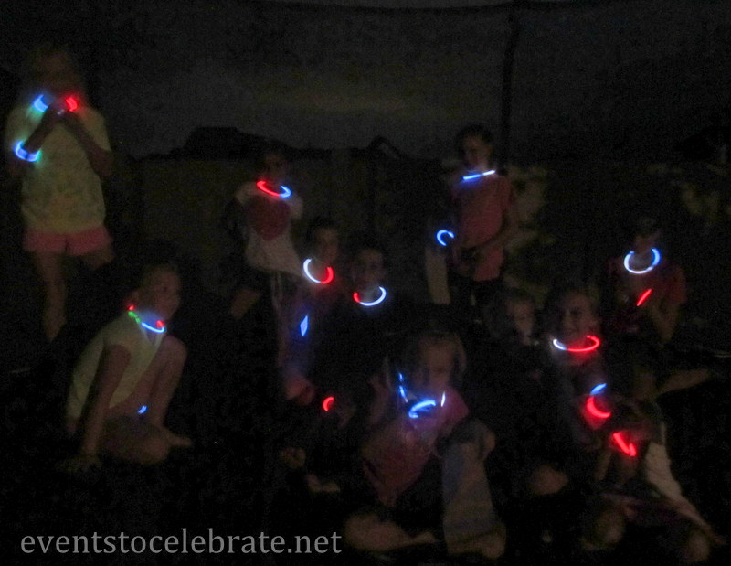 Slumber Party Activities - Glow In The Dark Truth or Dare