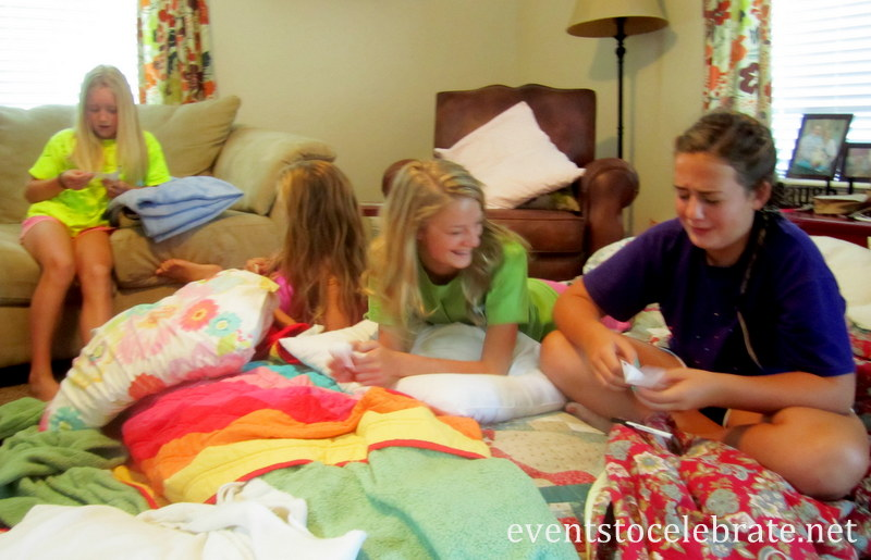 Slumber Party Activities - Mad Libs