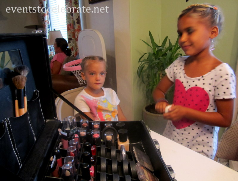 Slumber Party Activities - Make-up